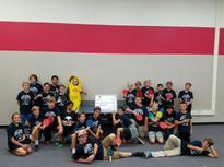 Ping Pong Club Gets Huge Check!